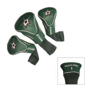 DALLAS STARS Golf Club Headcover Contour 3 Pack