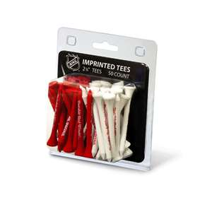 Detroit Red Wings Golf 50 Tee Pack 13955