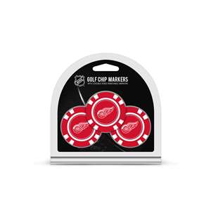 Detroit Red Wings Golf 3 Pack Golf Chip