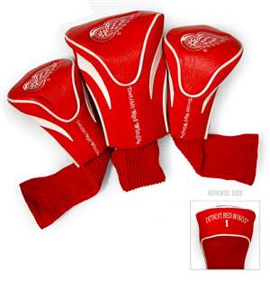 Detroit Red Wings Golf 3 Pack Contour Headcover