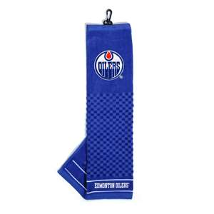 Edmonton Oilers Golf Embroidered Towel