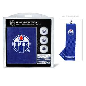 Edmonton Oilers Golf Embroidered Towel Gift Set 14020
