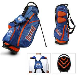 Edmonton Oilers Golf Fairway Stand Bag