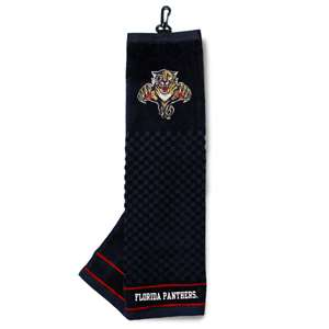 Florida Panthers Golf Embroidered Towel