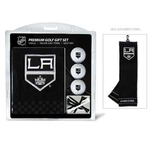 Los Angeles Kings Golf Embroidered Towel Gift Set 14220