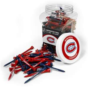 Montreal Canadiens Golf 175 Tee Jar