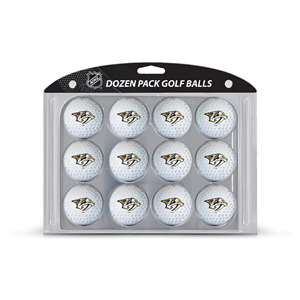 Nashville Predators Golf Dozen Ball Pack 14503