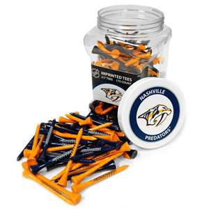 Nashville Predators Golf 175 Tee Jar 14551