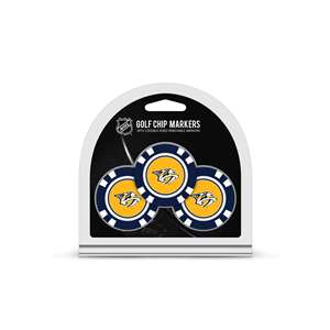 Nashville Predators Golf 3 Pack Golf Chip 14588