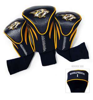 Nashville Predators Golf 3 Pack Contour Headcover 14594