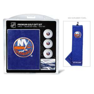 New York Islanders Golf Embroidered Towel Gift Set 14720