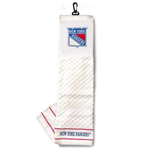 New York Rangers Golf Embroidered Towel