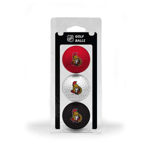 Ottawa Senators Golf 3 Ball Pack 14905