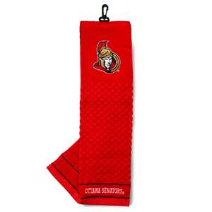 Ottawa Senators Golf Embroidered Towel