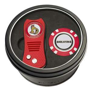 Ottawa Senators Golf Tin Set - Switchblade, Golf Chip