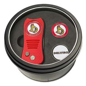 Ottawa Senators Golf Tin Set - Switchblade, 2 Markers 14959