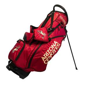 Arizona Coyotes Golf Fairway Stand Bag