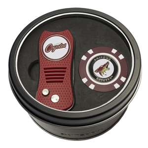 Arizona Coyotes Golf Tin Set - Switchblade, Golf Chip