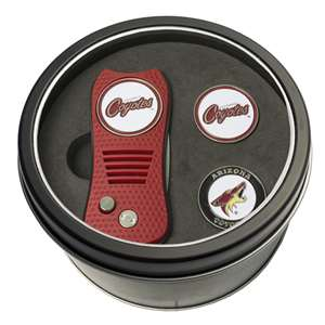 Arizona Coyotes Golf Tin Set - Switchblade, 2 Markers