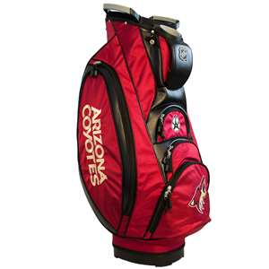 Arizona Coyotes Golf Victory Cart Bag