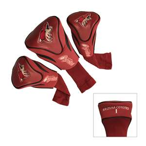 Arizona Coyotes Golf 3 Pack Contour Headcover