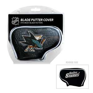 San Jose Sharks Golf Blade Putter Cover