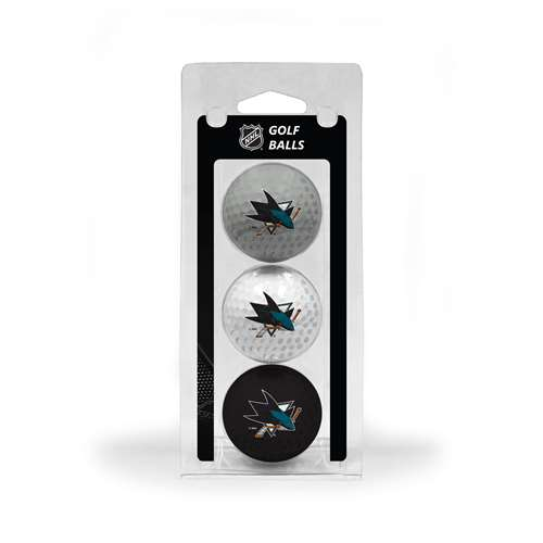 San Jose Sharks Golf 3 Ball Pack 15305