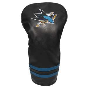 San Jose Sharks Golf Vintage Driver Headcover 15311