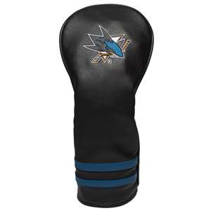 San Jose Sharks Golf Vintage Fairway Headcover 15326