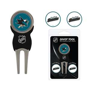 San Jose Sharks Golf Signature Divot Tool Pack