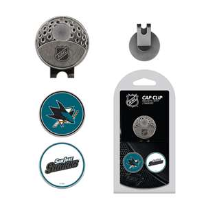 San Jose Sharks Golf Cap Clip Pack 15347