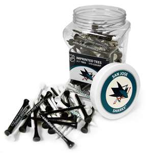 San Jose Sharks Golf 175 Tee Jar 15351