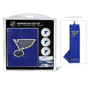 St. Louis Blues Golf Embroidered Towel Gift Set