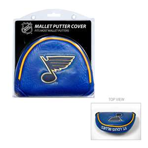 ST LOUIS BLUES Golf Club Mallet Putter Headcover