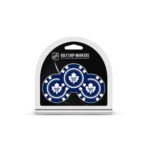 Toronto Maple Leafs Golf 3 Pack Golf Chip