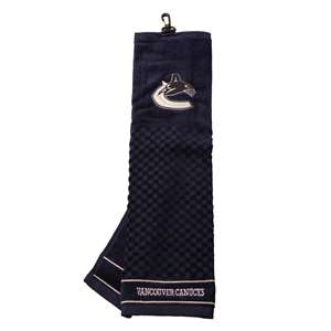 Vancouver Canucks Golf Embroidered Towel