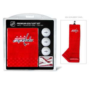 Washington Capitals Golf Embroidered Towel Gift Set 15820