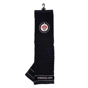 Winnipeg Jets Golf Embroidered Towel