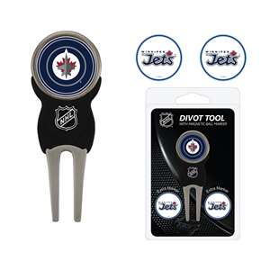 Winnipeg Jets Golf Signature Divot Tool Pack
