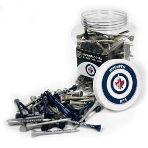 Winnipeg Jets Golf 175 Tee Jar