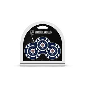 Winnipeg Jets Golf 3 Pack Golf Chip