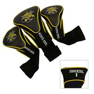 Wichita State University Shockers Golf 3 Pack Contour Headcover 17794