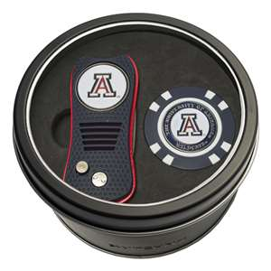 University of Arizona Wildcats Golf Tin Set - Switchblade, Golf Chip