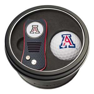 University of Arizona Wildcats Golf Tin Set - Switchblade, Golf Ball