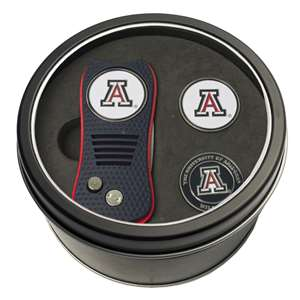 University of Arizona Wildcats Golf Tin Set - Switchblade, 2 Markers