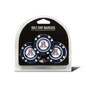 University of Arizona Wildcats Golf 3 Pack Golf Chip