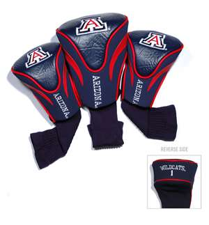 University of Arizona Wildcats Golf 3 Pack Contour Headcover