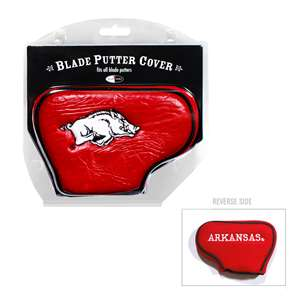 University of Arkansas Razorbacks Golf Blade Putter Cover