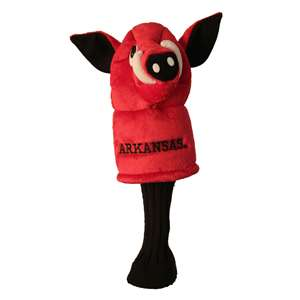 University of Arkansas Razorbacks Golf Mascot Headcover