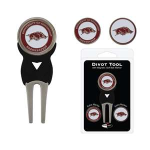 University of Arkansas Razorbacks Golf Signature Divot Tool Pack